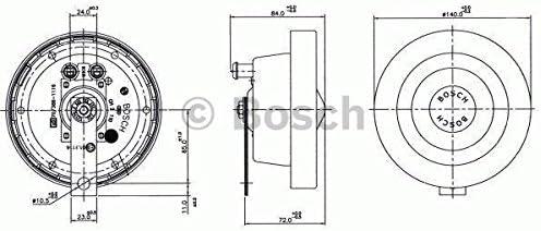 Bosch 0 320 223 028 Horn