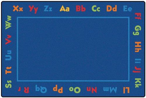 alphabet kid value plus rug 6u0027 x 9u0027