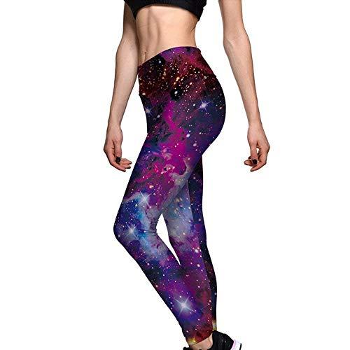 Bodybuilding Fitness Pantaloni Chic A Stampa Sportivi Ragazza Leggings Hx Color Con Fashion Donna Vita Da Alta Palestra Allenamento vwHUz6HqZc