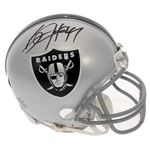 Bo Jackson Oakland Raiders Autographed Signed Mini Helmet - PSA/DNA Certified Authentic