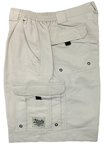 Boca Bay (Bimini Bay Outfitters Boca Grande Nylon Short (2-Pack) (42, Cement))