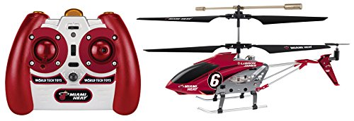 NBA Miami Heat Lebron James Edition Metal 3.5Ch Ir Helicopter (Miami Heat James compare prices)