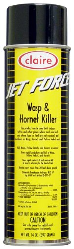 Claire C-005 14 Oz. Jet Force Wasp & Hornet Killer Aerosol Can (Case of 12)