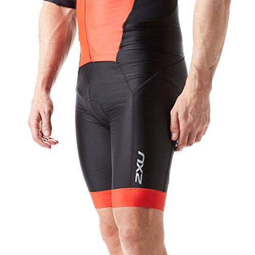 Uomo Black Sleeved team Body Triathlon Zip 2xu Red Perform Full q0wZxfY