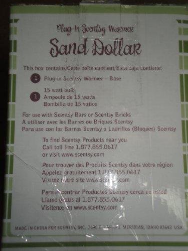 Scentsy Plug Warmer Sand Dollar