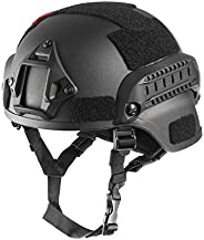 OneTigris MICH 2000 Style ACH Tactical Helmet with NVG Mount and Side Rail