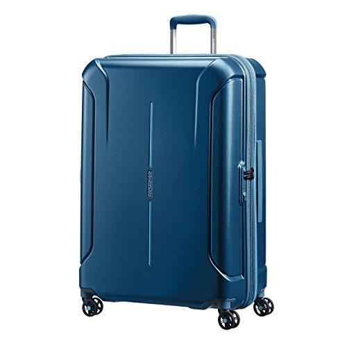 American Tourister Technum Spinner Hardside 28, Metallic Blue