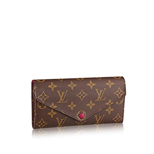 Louis Vuitton Monogram Canvas Fuchsia Josephine Wallet M60708 - Louis Vuitton Billfold