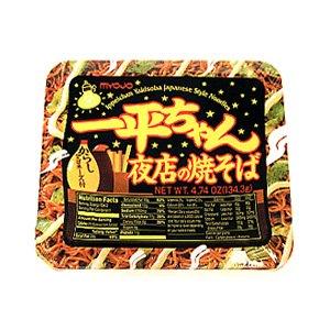 Myojo Yomise No Yakisoba, teriyaki and mayo flavor source 4.8oz, pack of 1