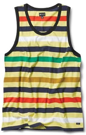 Matix Money Stripe Tank Top - Men's Yellow, XL