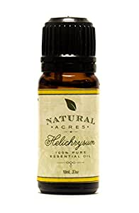 Helichrysum Essential Oil - 100% Pure Therapeutic Grade Helichrysum Oil by Natural Acres - 10ml