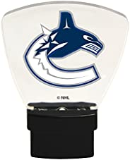 Authentic Street Signs 85326 NHL Vancouver Canucks LED Nightlight, Clear, One Size
