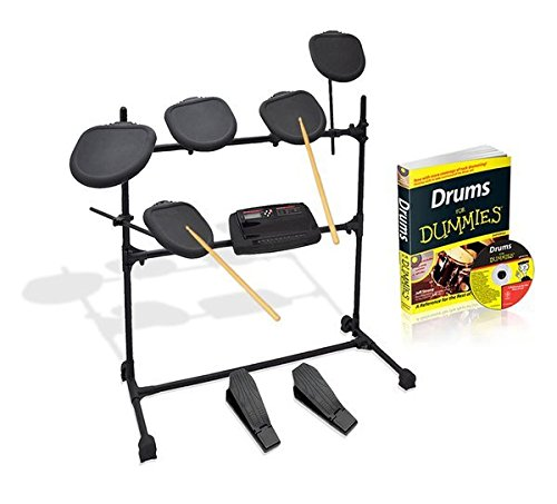 Pyle PED07 Beginners Learning Professional Electronic Drum Set for Dummies