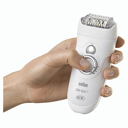 Braun Women's Epilator, Silk-épil 7 7-561 Electric Hair Removal, Wet & Dry, Shaver with Bikini Trimmer (Packaging May Vary) by Braun (Image #2)