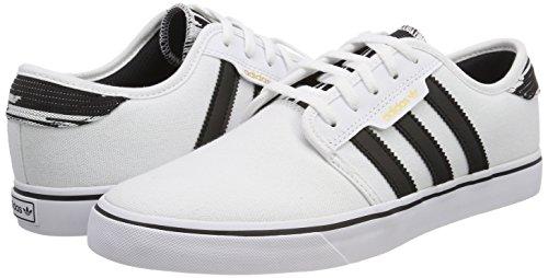 de 000 Ftwbla Negbas para Hombre Bb8458 Blanco adidas Zapatillas Skateboarding Ftwbla FwqExnvz
