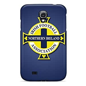 For Galaxy S4 Tpu Phone Case Cover(northern Ireland Football Logo) by icecream design
