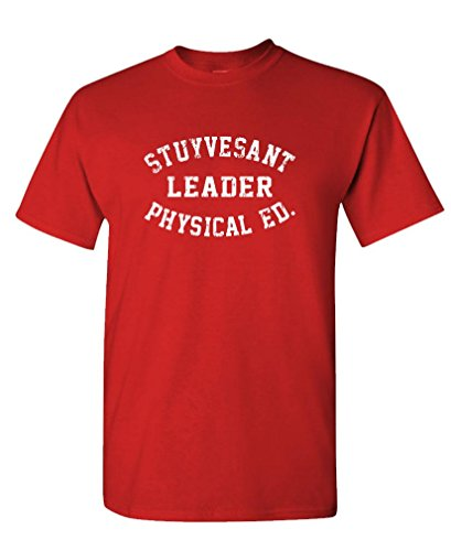 STUYVESANT LEADER PHYSICAL EDUCATION - Mens Cotton T-Shirt, XL, Red