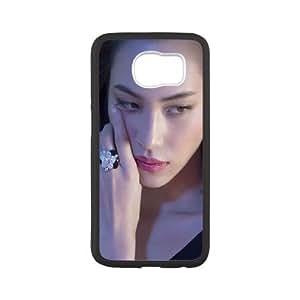 Samsung Galaxy S6 Phone Case Black Hg Kiko Mizuhara Model Sexy Photoshoot HO1T7DWS Protective Phone Cases