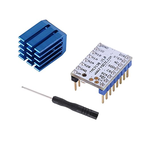 MagiDeal 4-layer PCB 3D Printer TMC2130 Stepper Motor Driver +Heatsink +Screwdriver by MagiDeal