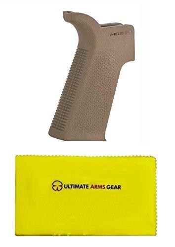 Magpul MAG539 MAG 539 MOE SL FDE Flat Dark Earth Tan + Ultimate Arms Gear Silicone Cloth Combo Kit