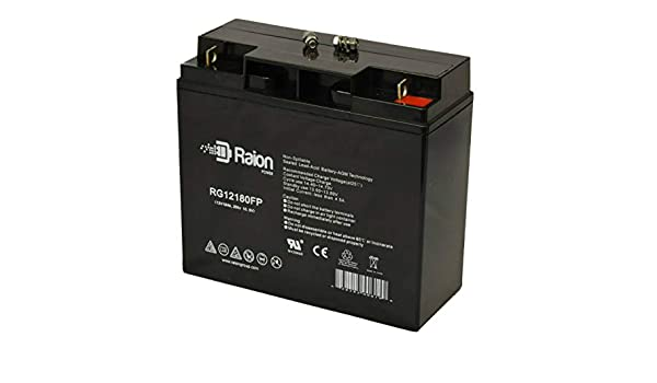 12V 18AH Replacement for Power Power ES17-12 12V 18Ah UPS Battery VICI Battery VB18-12
