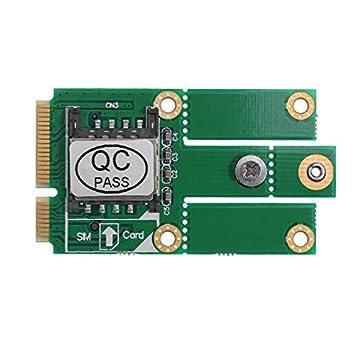 Amazon.com: Tekit M.2 NGFF B Key to Mini PCI-E PCIE - Kit de ...