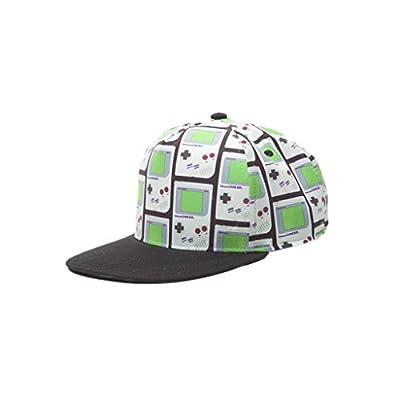 Official Nintendo Retro Gameboy All Over Print Snapback Cap Baseball Hat by Nintendo