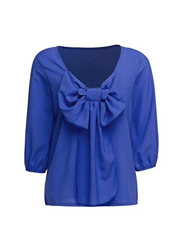 Persun Women Chiffon Blouse Shirt