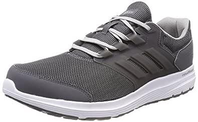 adidas, Galaxy 4 Shoes, Men's Shoes, Grey Five/Grey Five/Grey Two, 9.5 US (9.5 AU)