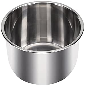 Instant Pot Inner Pot, Stainless Steel with 3 Ply Bottom, for 6 Qt/L Models