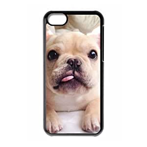 T-TGL(RQ) DIY Dog Pattern Protective Durable Back Case for Iphone 5C