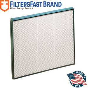 FiltersFast Compatible Replacement for Hunter 30940 QuietFlo HEPA Purifier Filter ()