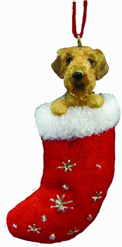 Airedale Terrier Stocking Ornament