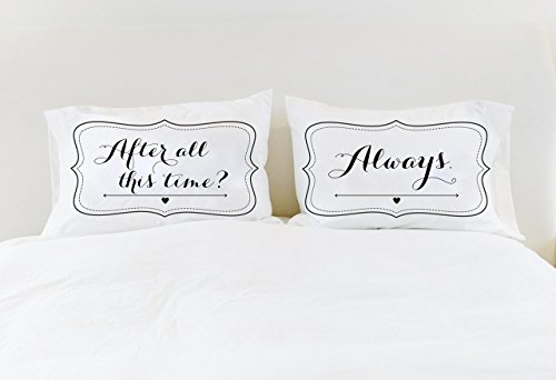 Couples Pillowcases Harry Potter After All This Time Always Pillows Wedding Gift Long Distance Relationship Gift LDR Gift Unique Gift