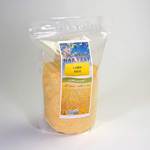 (Early Morning Harvest Organic Non-GMO Corn Meal)