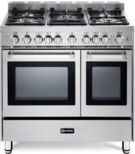36 gas range with electric oven - 3