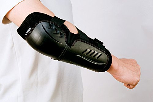 Goldwin elbow protector polypropylene (Shell) + polyethylene (base) black (K) GSM18400