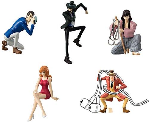 Gashapon Lupin the Third Desktop Figure Collection Set