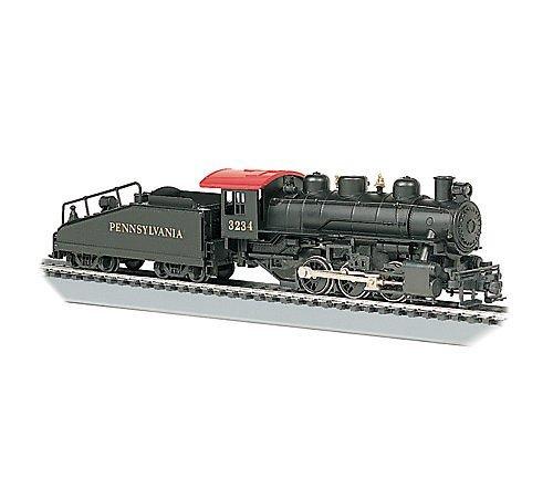 (Bachmann Trains USRA 0-6-0 with Smoke and Slope Tender - Pennsylvania Railroad #3234)