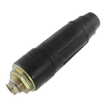 DealMux DKJ-95 Negro montaje rápido Cable de soldadura conector 315-500A: Amazon.es: Bricolaje y herramientas