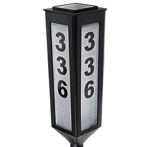 "24"" Solar Address Stake GetSet2Save"