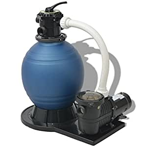 Daonanba Sand Filter with Pool Pump 18 inch 1 HP 4740 GPH