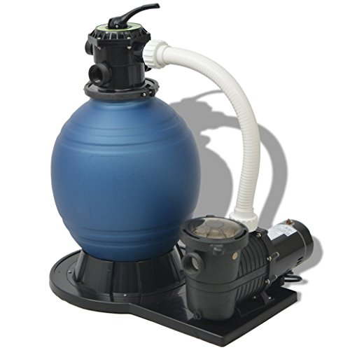 Daonanba Sand Filter with Pool Pump 18 inch 1 HP 4740 GPH by Daonanba