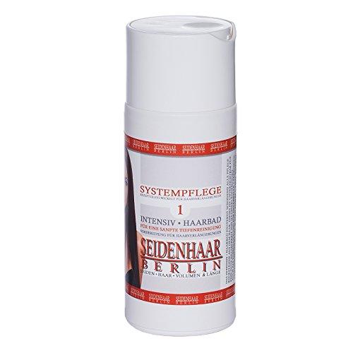 *Seidenhaar Intensiv Haarbad / Shampoo: 150ml * Tiefenreinigung vor Haarverlängerungen * ohne Silikone: 150 ml *