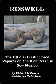 Amazon com: Roswell: The Official US Air Force Reports on the UFO