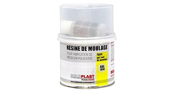 Soloplast 132854 9010 resina de superficie para moldeo/Type Gelcoat blanco: Amazon.es: Bricolaje y herramientas