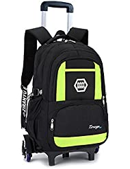 Meetbelify Kids Rolling Backpacks Luggage Six Or Two Wheels Unisex Trolley School Bags