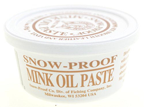 (Fiebings Snow-Proof Mink Oil Weatherproofing Paste 3OZ)