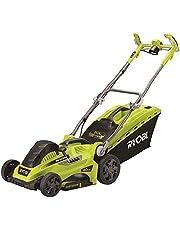 Ryobi Elektrisk gräsklippare RLM18E40H (gräsklippare med 1 800 W, 40 cm skärbredd, 20 – 70 mm skärhöjd, mulkkil) 5133002347