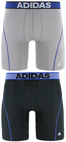 adidas Men's 9-Inch Sport Performance ClimaCool Midway Underwear (Pack of 2) – DiZiSports Store